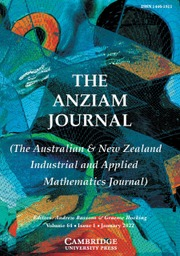 The ANZIAM Journal